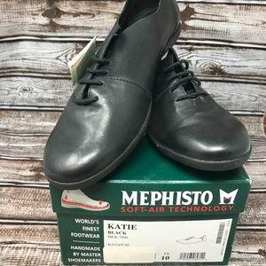 Mephisto Women's Katie Sneaker Black Size 10 US